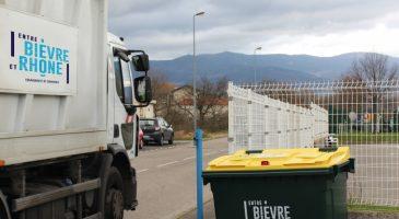 gestion déchets péage de Roussillon